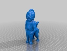 Centaur Punk by cerberus333 - Thingiverse   Big and Open Data, FabLab, Internet of things   Scoop.it