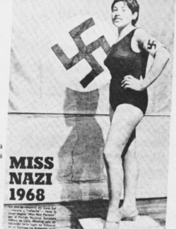 Miss Nazi 1968 was a brunette?! | Kitsch | Scoop.it