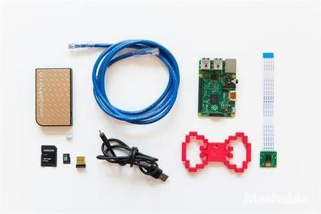 Build a 3D printed spy tie camera using a Raspberry Pi | B3dgeable | Raspberry Pi | Scoop.it