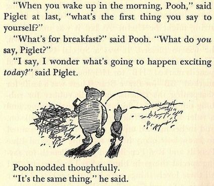 Life Lessons From Winnie-the-Pooh | BeBetter | Scoop.it