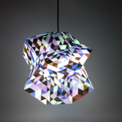 Dazzle lamps by Corneel Cannaerts 3D-printed with coloured interiors | 3d printers and 3d scanners | Scoop.it