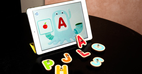 Teaching Kids the Alphabet Gets Easier With This iPad Game | Leadership for Mobile Learning | Scoop.it