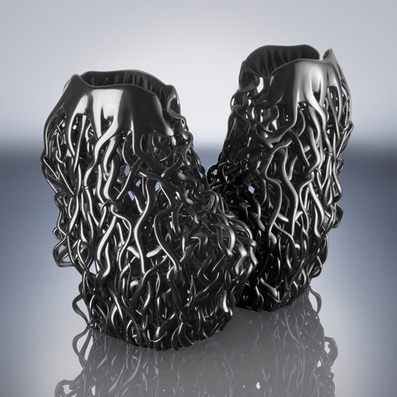 3D printed shoes by Iris van Herpen and Rem D Koolhaas | Machinimania | Scoop.it