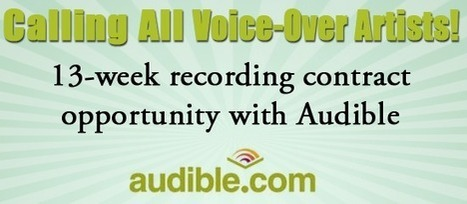 Audible Announces Competition for SAG-AFTRA Members; 4 Winners will receive 13-Week Recording Contract, Pro-Tools & and Pro Mic! | SAG Foundation | Inside Voiceover—Cutting-edge Insights + Enlightening, Entertaining News for Voiceover Professionals | Scoop.it