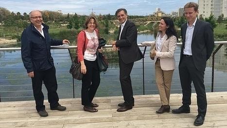 La consellera Cebrián pone el parque La Marjal como ejemplo de adaptación al cambio climático   Smart Water   Scoop.it