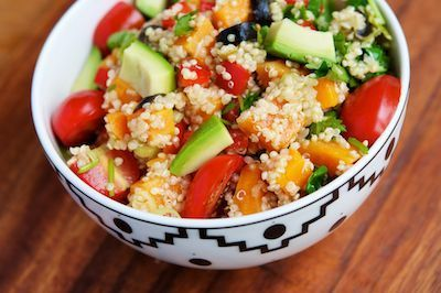 Review: Mexican Sweet Potato Quinoa Salad – vegalicious recipes ... | mexicanismos | Scoop.it