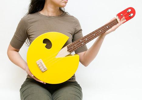 PacMan ukulele | All Geeks | Scoop.it