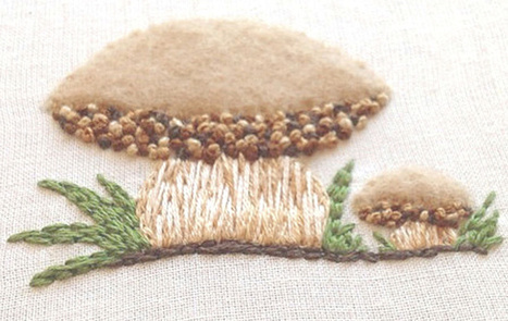 Boletus Edulis Embroidery | The Porcini Chronicles | Scoop.it