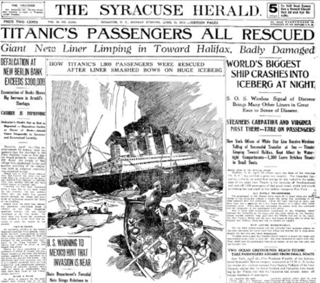 Titanic 100th anniversary: If the Titanic sank today, how would the news break on social media? | Language Journal | Scoop.it