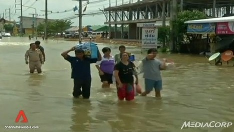 Businesses in Thailand prepare for the worst as torrential rains continue to pound - Channel News Asia | Thailand Floods (#ThaiFloodEng) | Scoop.it