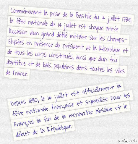 TICs en FLE: Fête nationale française du 14 juillet : quelques ressources | Parle en français! | Scoop.it