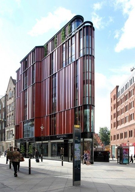 [ London, England, UK] South Molton Street Building / DSDHA | The Architecture of the City | Scoop.it