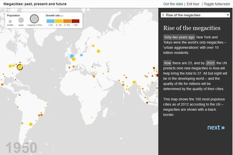 The Rise of Megacities | Historia y Mapas | Scoop.it