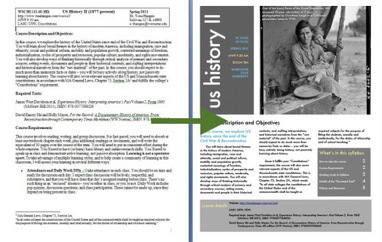 Building a visual syllabus | KOILS | Scoop.it