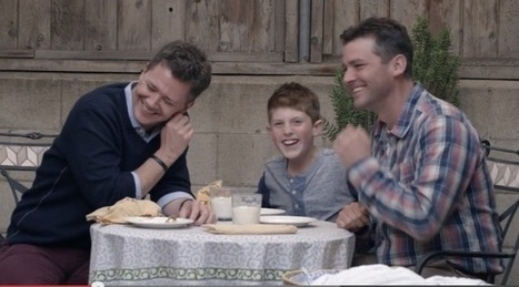 This Beautiful Ad Featuring a Gay Family Is Deeply Moving - The Slatest | Christian Homophobia | Scoop.it