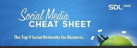 The Social Media Cheat Sheet for Business | digital marketing strategy | Scoop.it