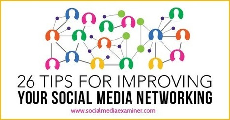 26 Tips for Improving Your Social Media Marketing | SteveB's Social Learning Scoop | Scoop.it