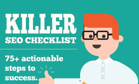 Killer SEO Checklist - Visual Contenting | Visual Marketing & Social Media | Scoop.it