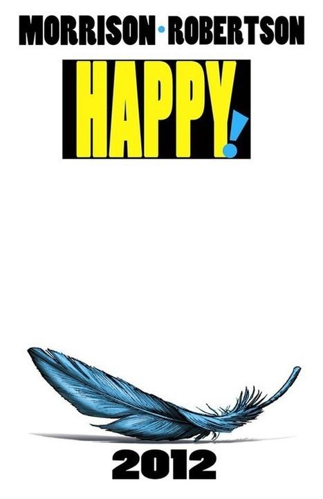 Grant Morrison & Darick Robertson's 'Happy!' and the Renewal of Image Comics - ComicsAlliance   Comic Books   Scoop.it