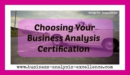 IIBA CCBA and CBAP | Which certification should you do? | Business Analysis | Scoop.it