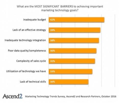 Marketing technology utilization takes a major swing upward   CustomerThink   Data   Digital   Technology   Scoop.it