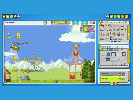Education App Spotlight: Contraption Maker - TeachThought | Digital TSL | Scoop.it