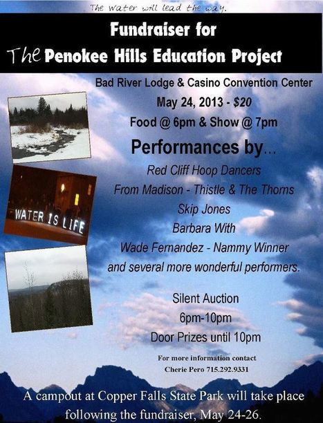 Wade Fernandez - Benefit for the Penokee Hills Education Project on May 24th, 2013! A musical good time for a great cause! | IDLE NO MORE WISCONSIN | Scoop.it