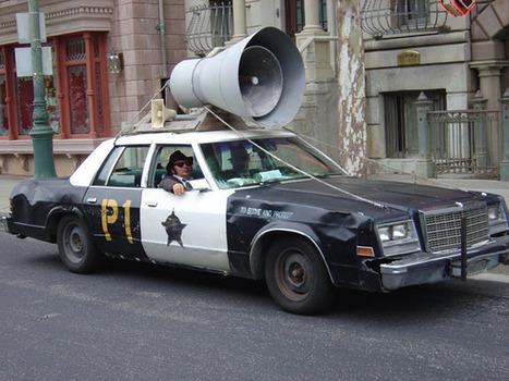Blues Mobil - Musical horn Installation | DESARTSONNANTS - CRÉATION SONORE ET ENVIRONNEMENT - ENVIRONMENTAL SOUND ART - PAYSAGES ET ECOLOGIE SONORE | Scoop.it