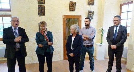 Danièle Capelli et Maurice Morala exposent au prieuré | Actualité touristique Fumel-Vallée du Lot | Scoop.it