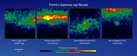 Surprise! Classical Novae Produce Gamma Rays | Nuclear Physics | Scoop.it