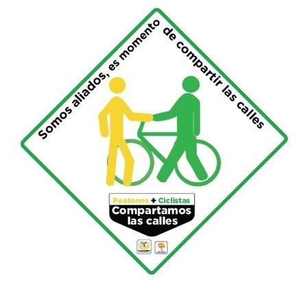 Twitter / SMA_AmbienteDF: #CiclistasPeatonesSomosAliados ...   Cultura vial   Scoop.it