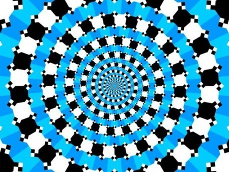 Ceci n'est pas une spirale | The brain and illusions | Scoop.it