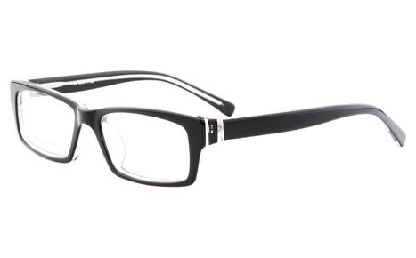 Black Transparent 1189 Full Rim Rectangle,Square Glasse | anninobi | Scoop.it