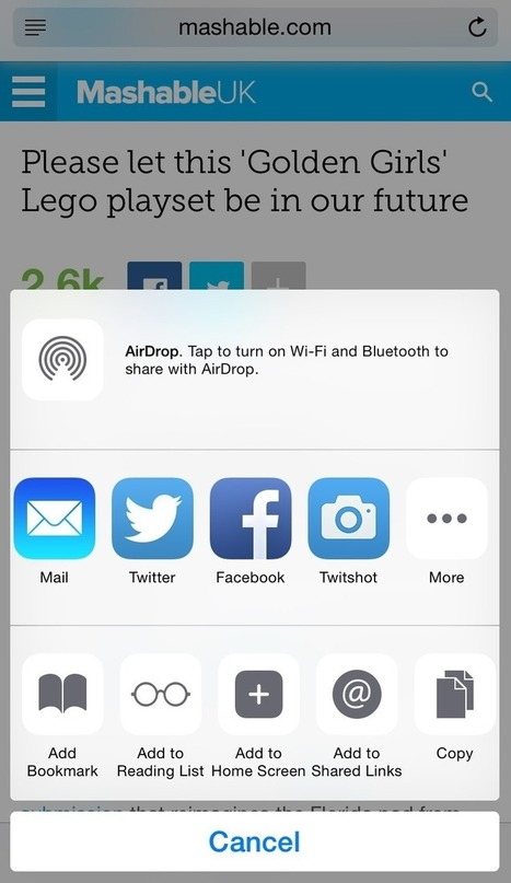 How to add a Pinterest button to your iOS sharing options | Social Media 101 | Scoop.it