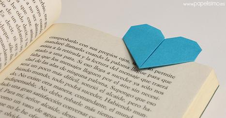 Manualidades para el Día Internacional del Libro - Papelisimo   Educacion, ecologia y TIC   Scoop.it