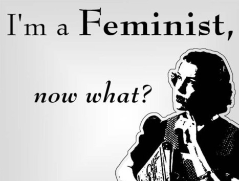 """Feminism is a question: what truths are missing here?"" 