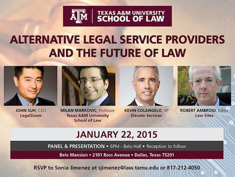 Alternative Legal Service Providers & the Future of Law | Conferences and Symposiums | Scoop.it