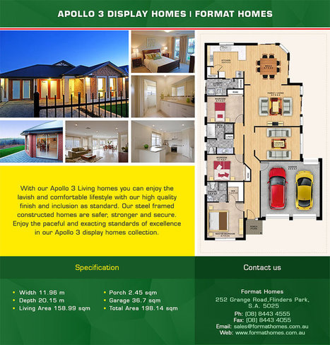 Apollo 3 Display Homes By Format Homes | Format Homes - New Home Builder | Scoop.it