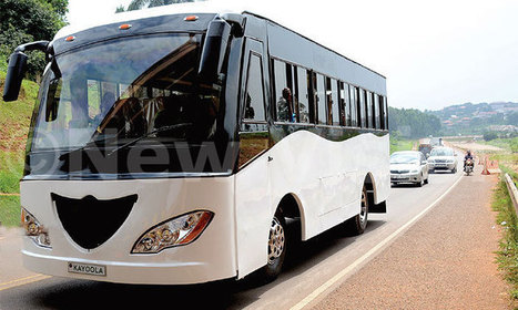 'Kayoola': Makerere unveils solar-powered bus | Afrika | Scoop.it