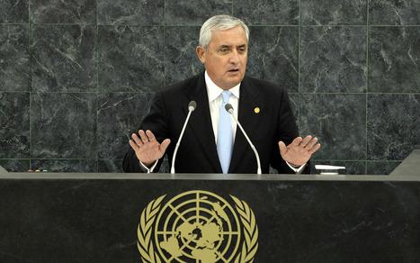 Guatemala president to UN: Reform global drug policy | Al Jazeera America | Drugs & Democracy | Scoop.it