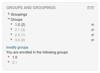 Moodle plugins directory: Groups and Groupings | E-Learning and Technology | Scoop.it