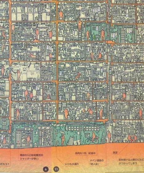 Detailed Cross-section of the Kowloon WALLET City Created by Japanese Researchers   URBANmedias   Scoop.it