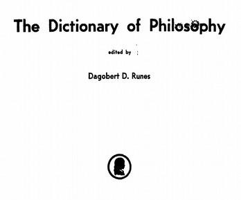 (EN) (PDF) -  The Dictionary of Philosophy | Dagobert D. RUNES | Translation, Languages & Glossaries | Scoop.it