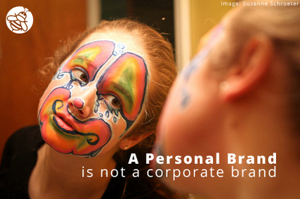 Personal Brands Are Not Corporate Brands : @StickyBranding | Virtual Identity Pro | Scoop.it