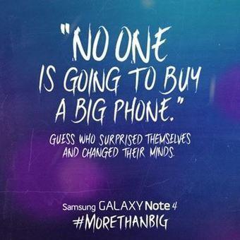 Samsung se moque déjà d'Apple et de l'écran des iPhone 6 | Innovation TIC | Scoop.it