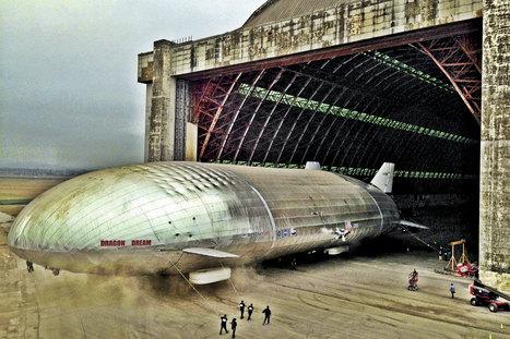 Voici le transport aérien de demain : le Dragon Dream, un paquebot volant | DREAMBOW | Scoop.it