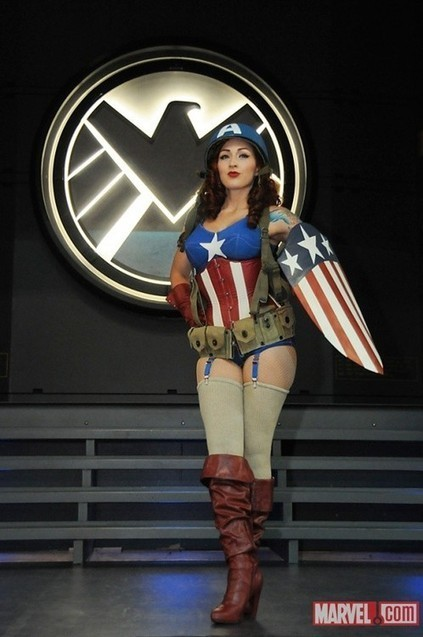 Cosplay of the day: Captain America is looking pretty sexy   All Geeks   Scoop.it