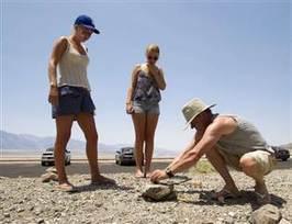 Death Valley cracks down on sidewalk egg-frying - NBC News.com | Troy West's Radio Show Prep | Scoop.it