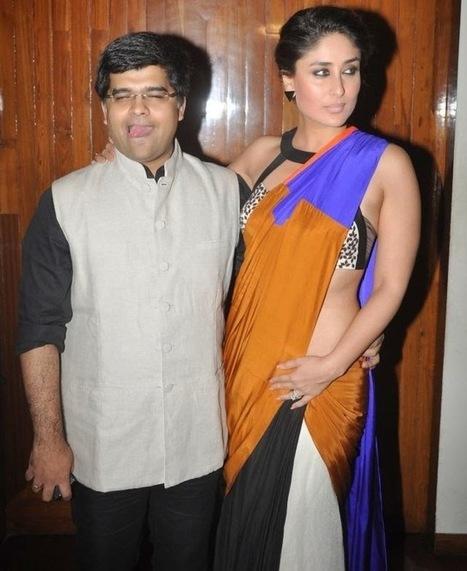Curves in Saree By Hot Kareena Kapoor ~ Actress Pictures | 2014 Hot Actresses | Scoop.it