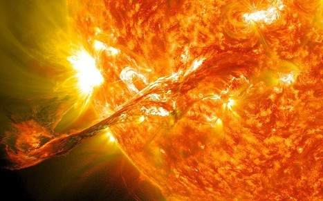 NASA: Sun expected to flip its magnetic field upside down, reversing polarity | Amazing Science | Scoop.it